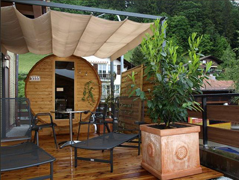 Build outdoor wood burning sauna diy for Build a wood burning sauna